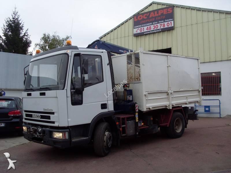 camion benne occasion iveco eurocargo 85e15 gazoil. Black Bedroom Furniture Sets. Home Design Ideas