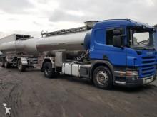 ciężarówka cysterna do przewozu produktów żywnościowych używana