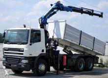 DAF CF 85.340 * Kipper 6,25 m + KRAN Top Zustand! truck