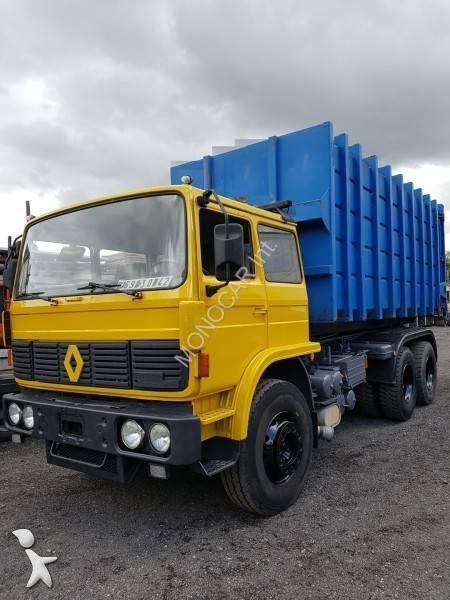 camion polybenne occasion renault gamme g 290 gazoil marrel annonce n 2264934. Black Bedroom Furniture Sets. Home Design Ideas
