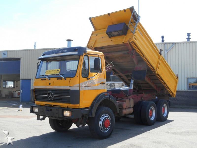 camion mercedes benne 2628 6x6 gazoil occasion n 2267068. Black Bedroom Furniture Sets. Home Design Ideas