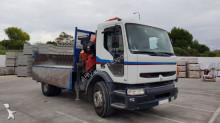 Camión caja abierta teleros Renault PK 15500