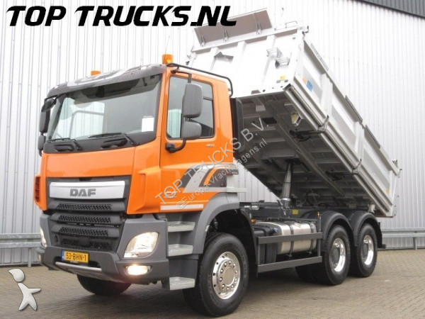 used daf cf tipper truck 460 6x4 diesel euro 6 n 2273221. Black Bedroom Furniture Sets. Home Design Ideas