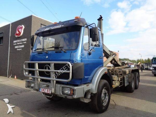 Camion porte containers belgique 71 annonces de camion - Camion porte container avec grue occasion ...