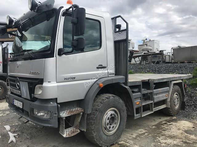 used mercedes chassis truck atego 1018 4x4 energetyka 4x4 diesel euro 5 n 2278408. Black Bedroom Furniture Sets. Home Design Ideas