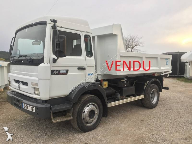 camion polybenne occasion renault gamme m 180 gazoil