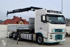 Volvo FH 16 660 Pritsche 5,80 m + KRAN / 6x2 truck