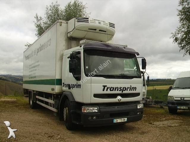 camion renault frigo thermoking gasolio euro 3 usato n 2286100. Black Bedroom Furniture Sets. Home Design Ideas