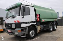 used oil/fuel tanker truck