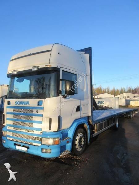 camion scania plateau standard 4x2 gazoil euro 3 occasion n 2297765. Black Bedroom Furniture Sets. Home Design Ideas