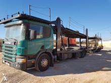 Camión portacoches Scania 124 420