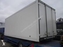 MAN Isolierter Koffer mit Stand Umluftheizung Treppe truck