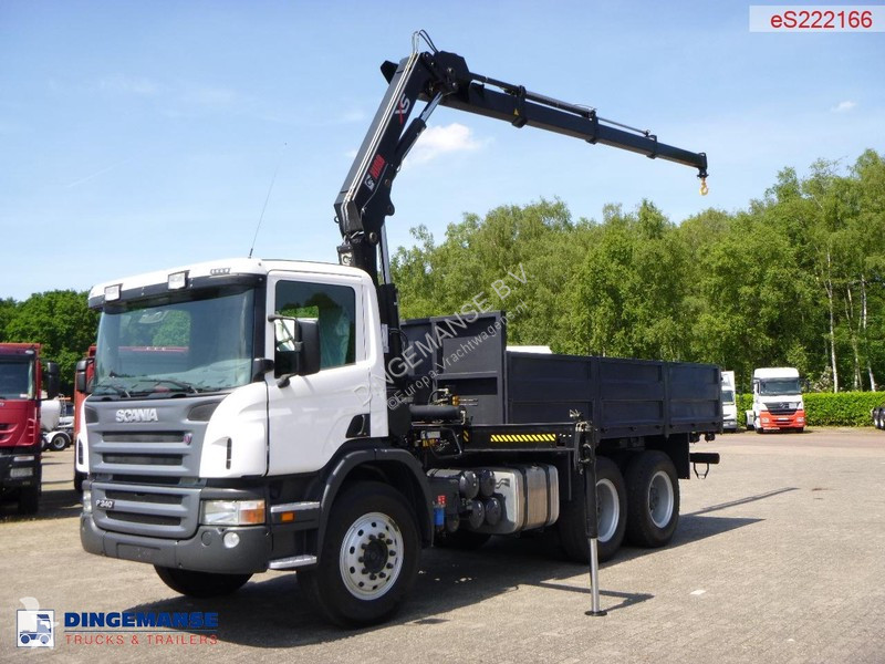 autres camions scania p 340 6x4 euro 3 grue neuf n 2308815. Black Bedroom Furniture Sets. Home Design Ideas