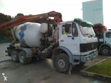 Camión hormigón cuba Mezclador Mercedes CAMION BOMBA HORMIGONERA MERCEDES BENZ 2