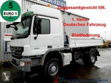 camion Mercedes 1855 4x4 V8 3S. 69t.ZugGesamt Blatt leaf springs