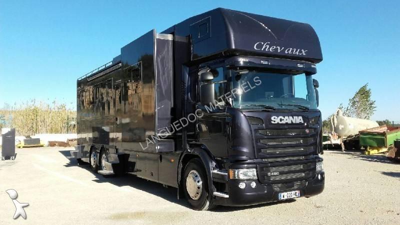 camion scania van chevaux g 450 8x4 euro 6 neuf n 2315520. Black Bedroom Furniture Sets. Home Design Ideas