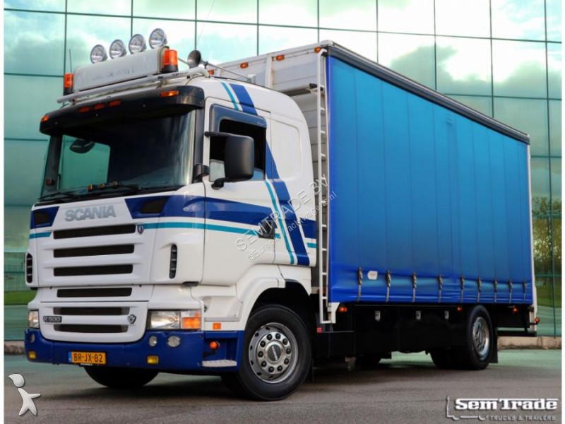 camion scania savoyarde occasion n 2322533. Black Bedroom Furniture Sets. Home Design Ideas