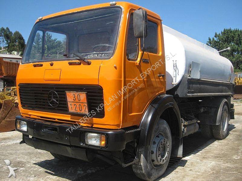 camion mercedes citerne 1619l occasion n 2324053. Black Bedroom Furniture Sets. Home Design Ideas