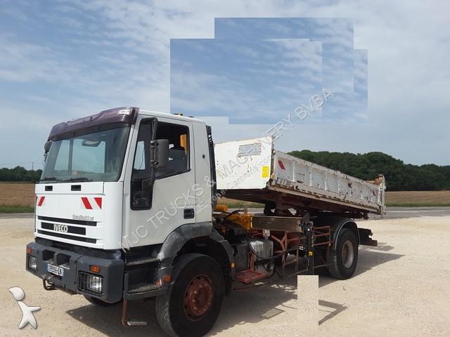 camion iveco benne eurotrakker 4x2 gazoil occasion n 2329926. Black Bedroom Furniture Sets. Home Design Ideas