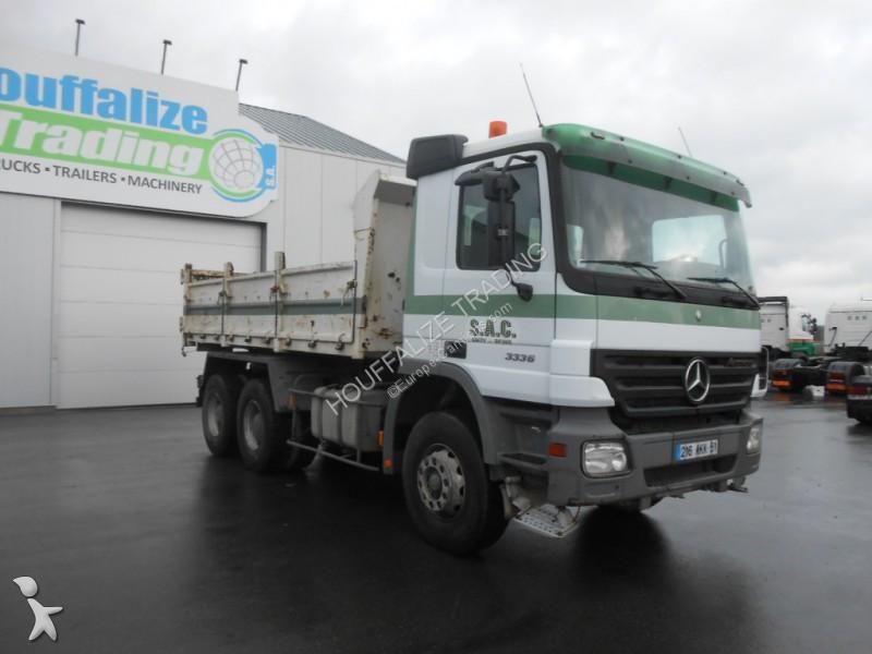 camion mercedes benne actros 3336 6x4 gazoil euro 3 occasion n 2335785. Black Bedroom Furniture Sets. Home Design Ideas