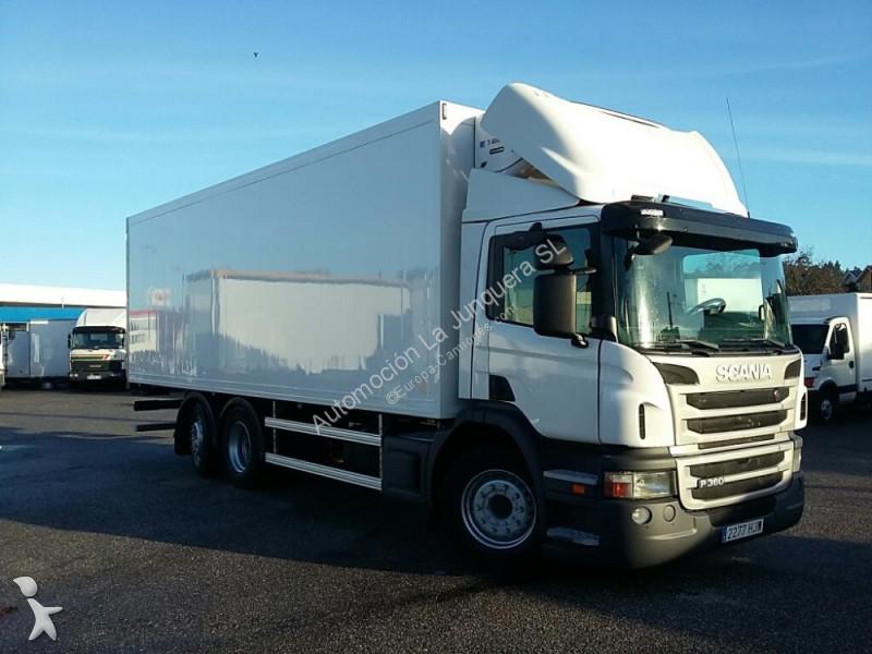 camion scania frigo p360 6x2 occasion n 2336953. Black Bedroom Furniture Sets. Home Design Ideas