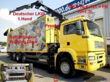 camion MAN TGA 32.390 Schubboden 57m³Wertstoff Müll Presse