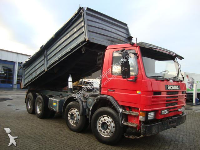 camion scania tri benne 113 8x4 gazoil occasion n 2341701. Black Bedroom Furniture Sets. Home Design Ideas