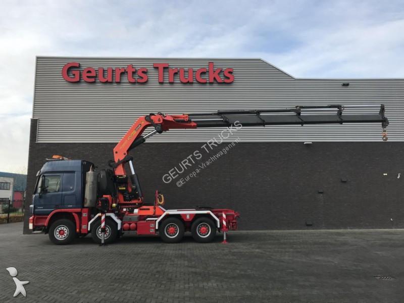 Used Mercedes Other Trucks 4151 Trekker Palfinger Pk 100002 D 8x4