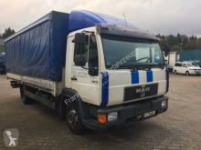 camion MAN 8.163, Plane-Spriegel, grüne Plakette PMF,TÜV