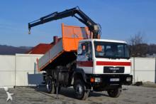 MAN LE 14.225 Kipper 3,55 m + KRAN 4x4 truck