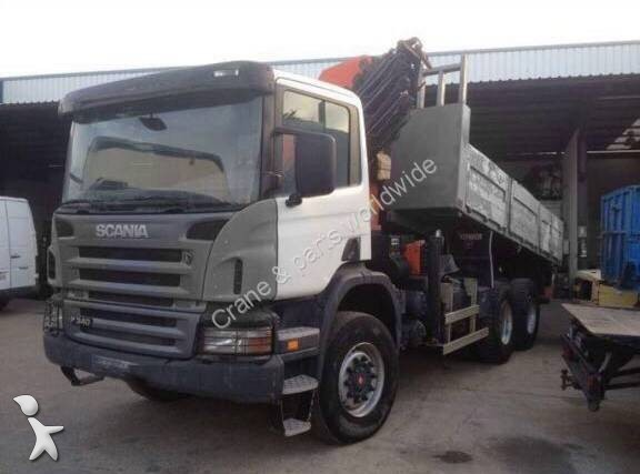 camion scania plateau 6x6 euro 4 grue occasion n 2376752. Black Bedroom Furniture Sets. Home Design Ideas
