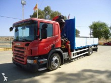 Camión caja abierta Scania P 230