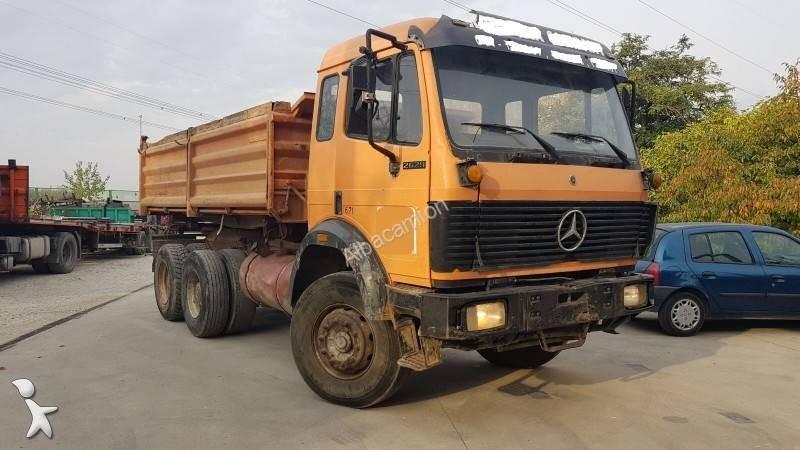 Camion mercedes ribaltabili 643 annunci di camion for Rimorchi ribaltabili trilaterali usati
