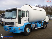 Volvo gas tanker truck
