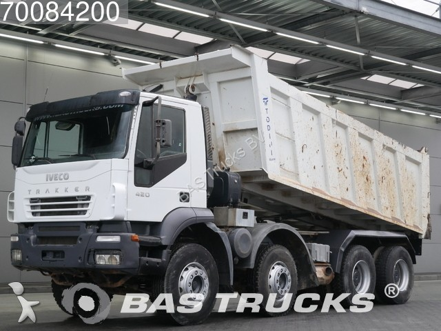 camion iveco benne trakker 8x4 gazoil euro 3 occasion n. Black Bedroom Furniture Sets. Home Design Ideas