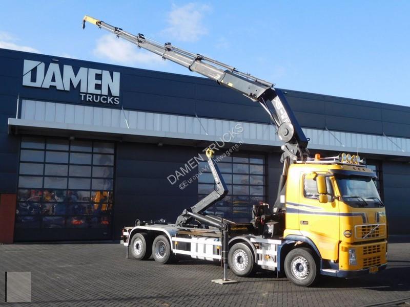 Camion volvo porte containers fh 440 8x2 gazoil euro 5 - Camion porte container avec grue occasion ...