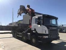 Camión caja abierta teleros Scania PK 100002