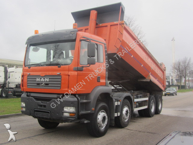 camion man benne atm dumper 20 m3 8x4 gazoil euro 3 occasion n 2425449. Black Bedroom Furniture Sets. Home Design Ideas