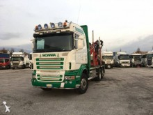 camion trasporto tronchi Scania