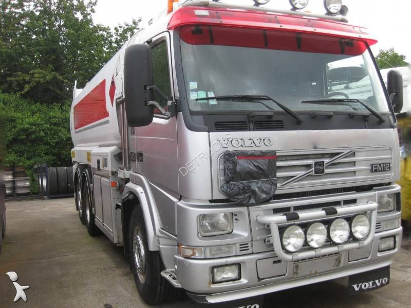 used volvo fm12 tanker truck 6x2 diesel euro 3 n 2434053. Black Bedroom Furniture Sets. Home Design Ideas
