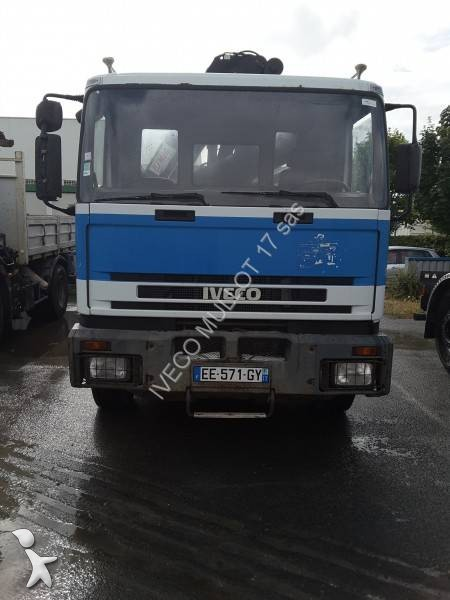 camion benne occasion iveco eurocargo 190e30 gazoil grue annonce n 2435216. Black Bedroom Furniture Sets. Home Design Ideas