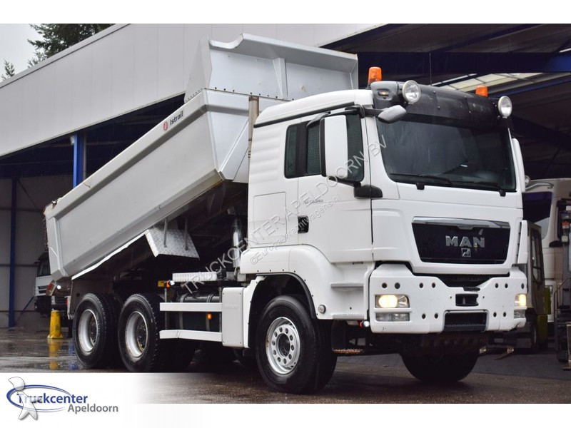 camion man benne tgs 6x4 gazoil euro 5 occasion n 2437133. Black Bedroom Furniture Sets. Home Design Ideas