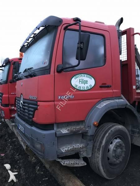 camion mercedes benne tp 1828 4x2 gazoil euro 0 occasion