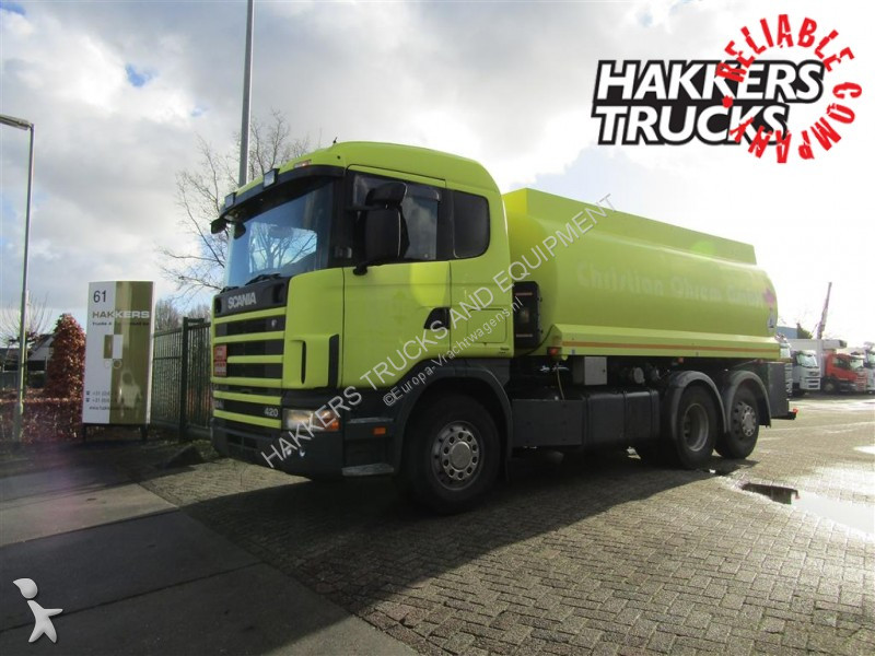 used scania r tanker truck 124 6x2 diesel euro 3 n 2439312. Black Bedroom Furniture Sets. Home Design Ideas