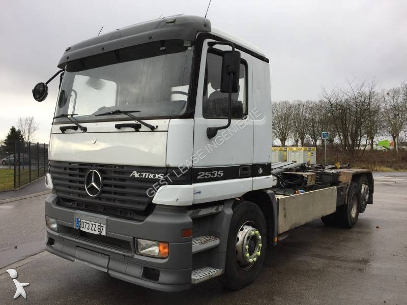 camion polybenne occasion mercedes actros 2535 gazoil dalby annonce n 2440738. Black Bedroom Furniture Sets. Home Design Ideas