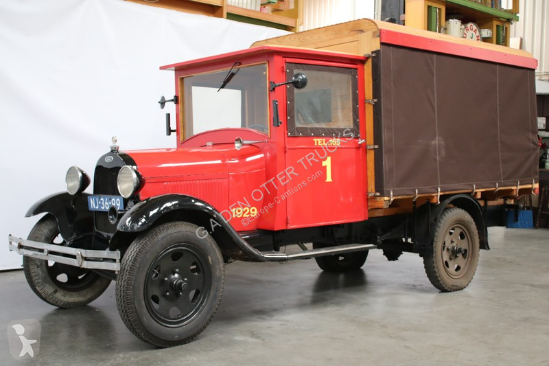 gebrauchter ford lkw pritsche 1929 model aa benzin n 2442071. Black Bedroom Furniture Sets. Home Design Ideas