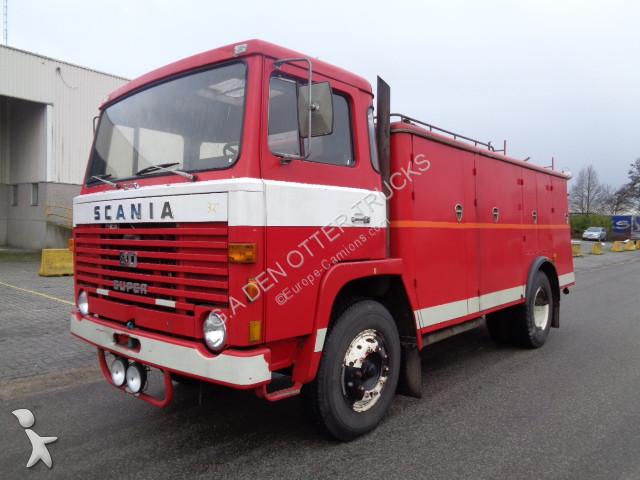 camion scania pompiers lb 80 super 1972 4x2 gazoil occasion n 2442358. Black Bedroom Furniture Sets. Home Design Ideas
