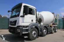 MAN TGS 32.400 8x4 BB - STETTER 9 m³ - Nr: 410 truck