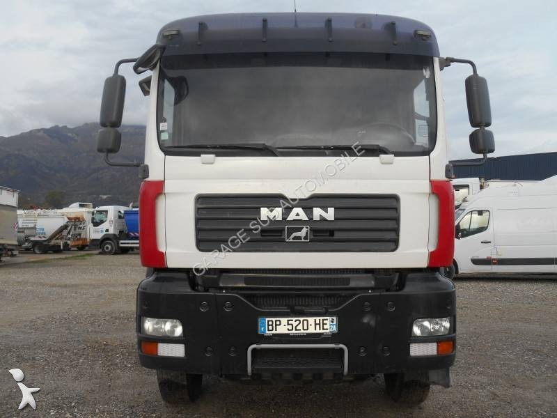 camion man benne tp 6x4 gazoil euro 4 grue occasion. Black Bedroom Furniture Sets. Home Design Ideas