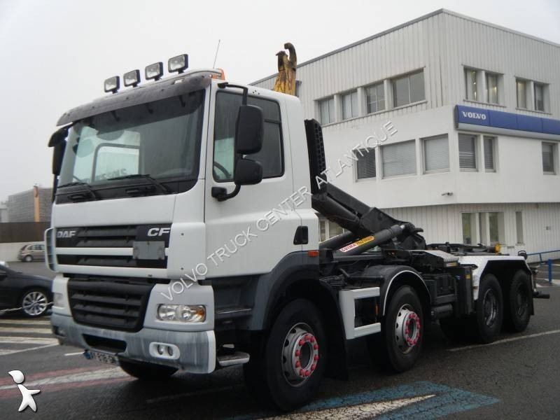 camion daf polybenne ampliroll cf85 410 4x2 euro 5. Black Bedroom Furniture Sets. Home Design Ideas
